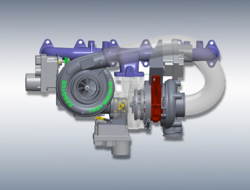 Two-Classes Turbocharger